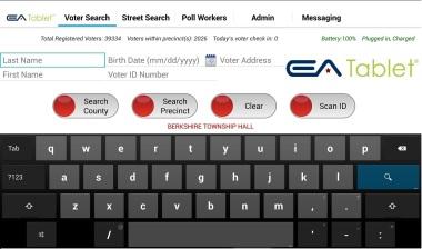 Universal EA Tablet